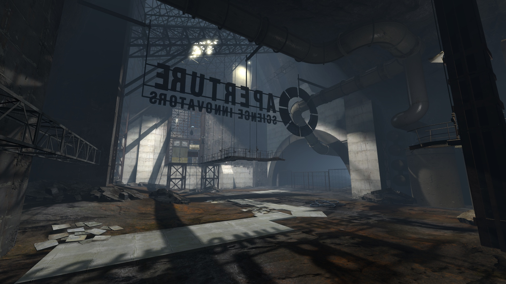 Portal 2 the rwp for Half life 2 architecture