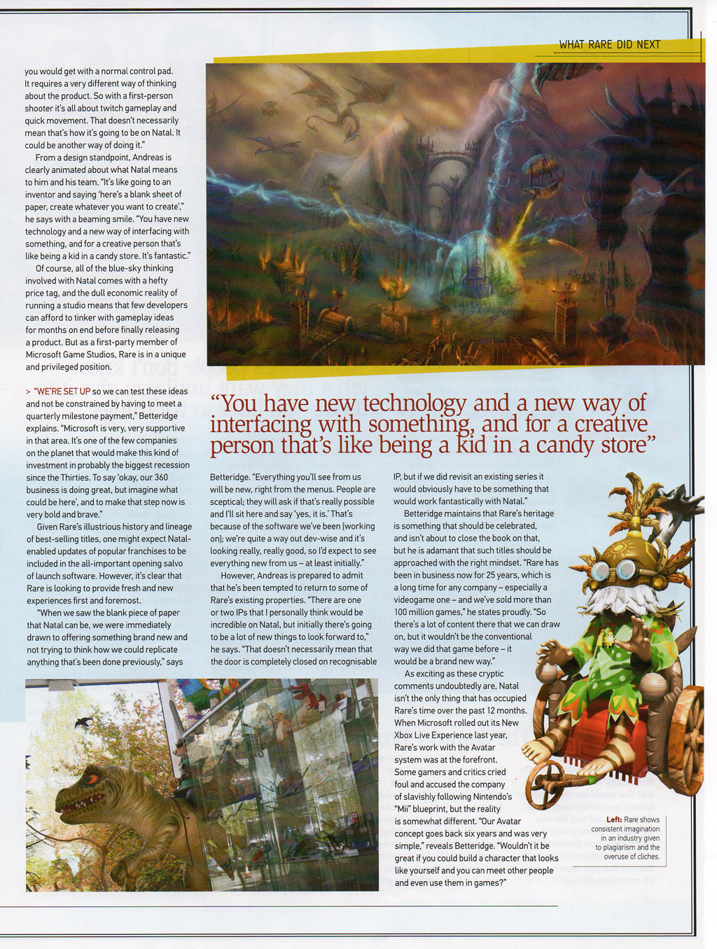 Games Tm Rare Interview Scans The Rwp