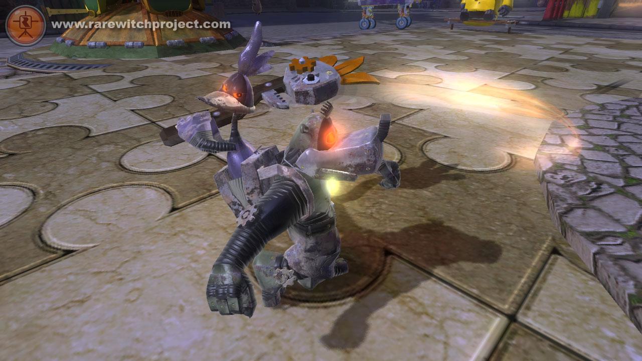 Banjo Kazooie Robot Rock The RWP